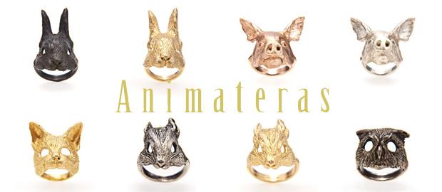Animateras リアルな動物をモチーフにした大人なアクセサリーブランド。